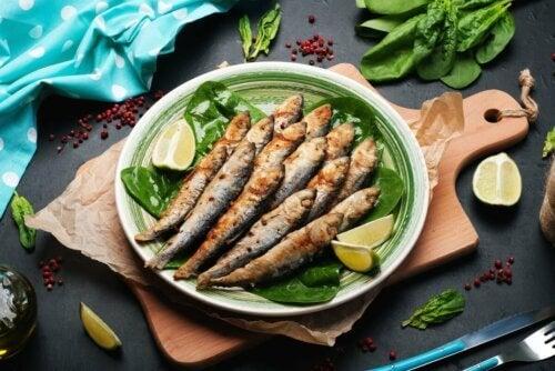 Prato de sardinha