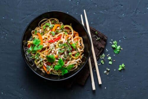 Quais são os benefícios da comida tailandesa?