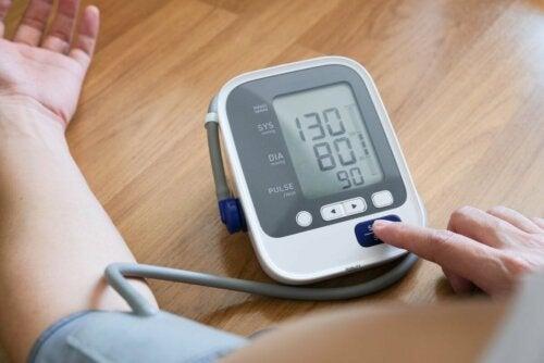 Medida de pressão arterial