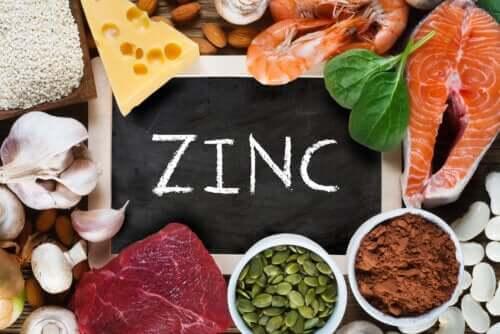 Qual é a função do zinco no corpo?