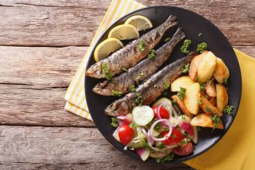 Os 3 principais benefícios da sardinha