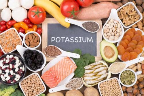 Alimentos fonte de potássio
