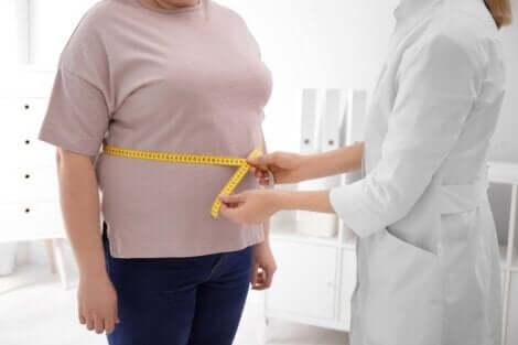 Controle de peso para evitar problemas de coluna