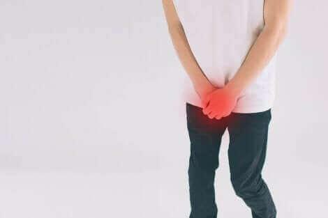 Dor na região do pênis