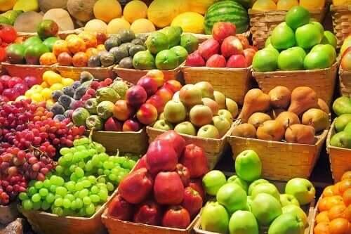 Frutas da estação
