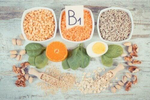 Fontes de vitamina B1