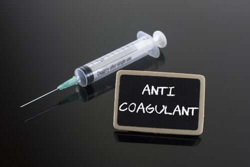 Recomendações para pessoas que fazem tratamento anticoagulante