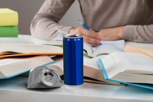 As bebidas energéticas e o seu risco para a saúde