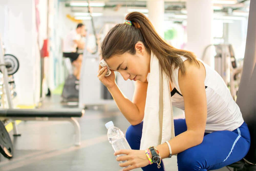 Hidratação durante os exercícios