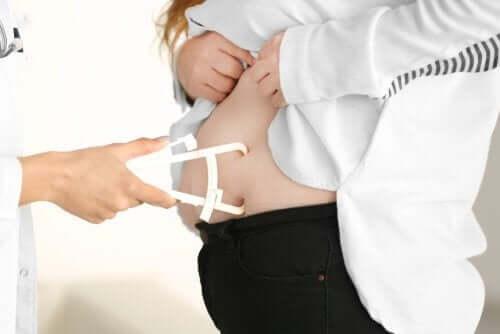 Medir percentual de gordura