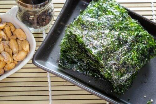 Aperitivo de algas