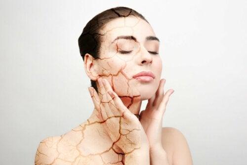 Causas da pele seca