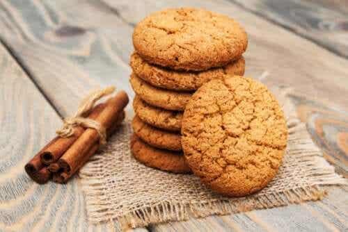 Receita fácil de biscoitos de canela