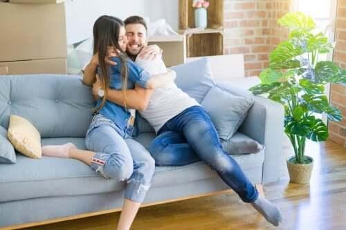 A convivência em casal