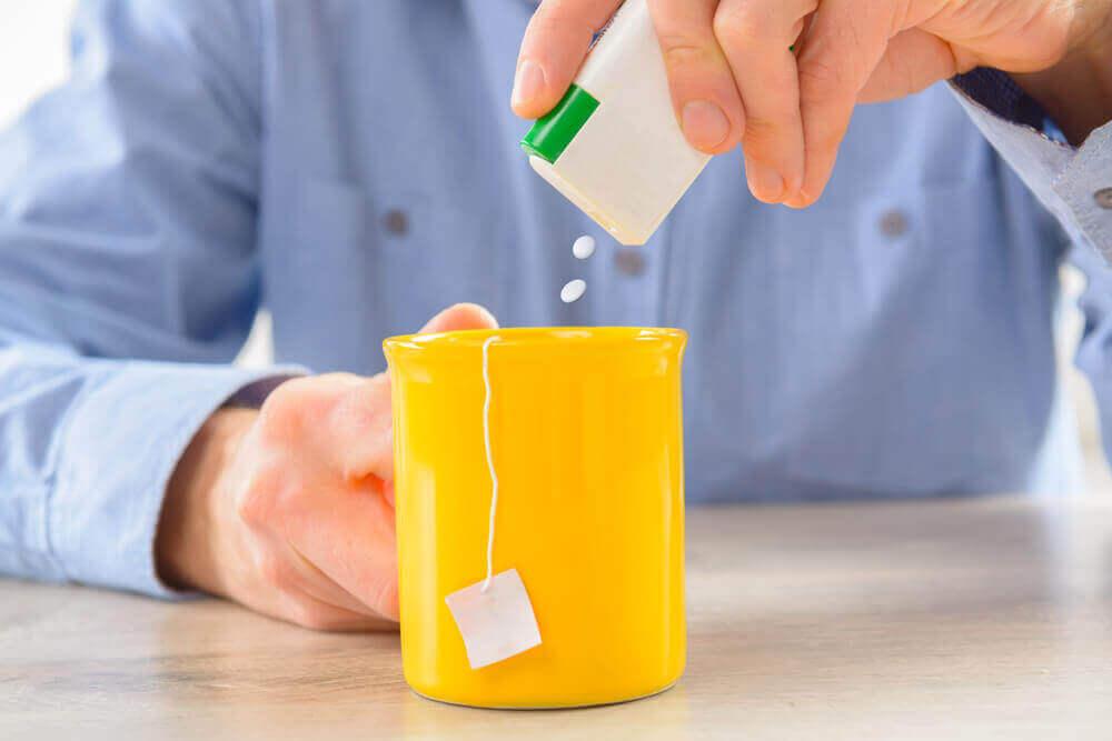 Adoçante para o chá