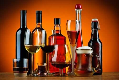 Bebidas com alto teor de álcool