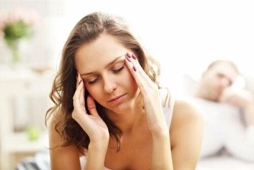 Dor de cabeça após orgasmo