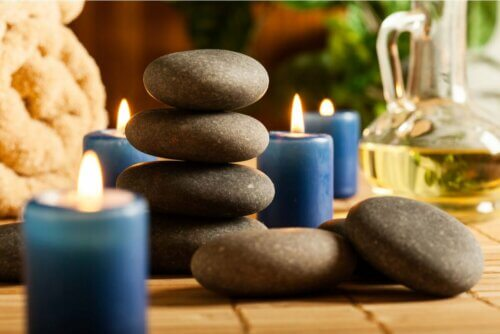 Pedras para fazer massagem