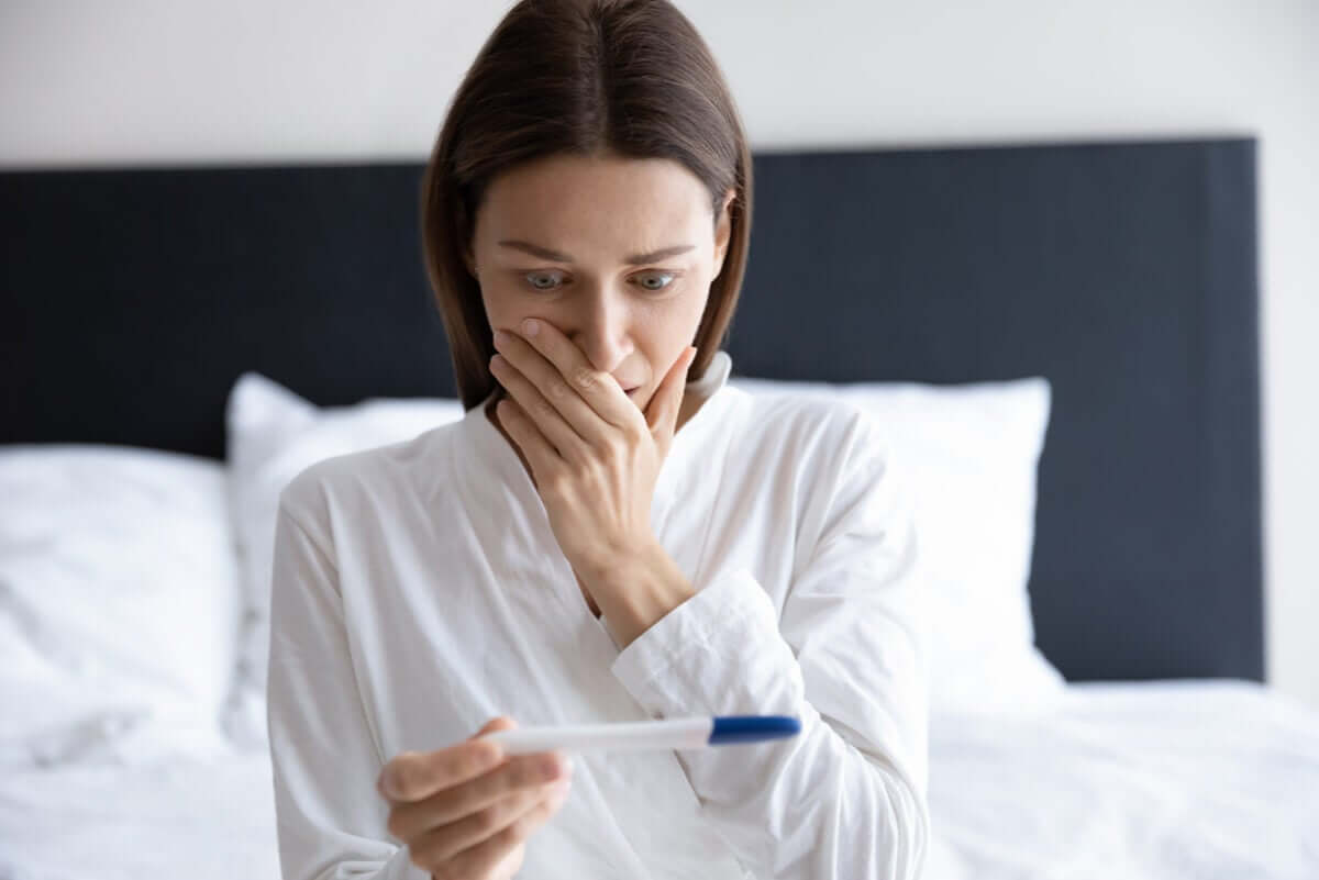 Testes de gravidez caseiros