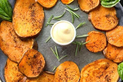 Chips de batata-doce: uma receita que você vai adorar