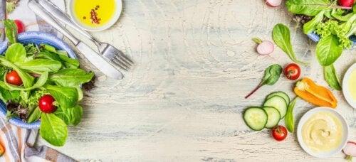 Incluir vegetais na dieta