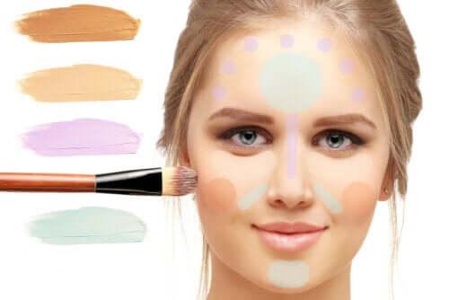 Qual é a função do corretivo colorido e como usá-lo?