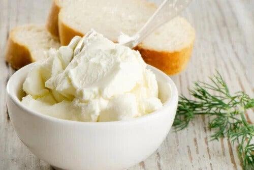 O cream cheese é nutritivo ou não?