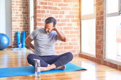 3 exercícios para evitar se você tiver uma hérnia de disco