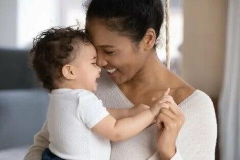 Conexão entre mãe e filho