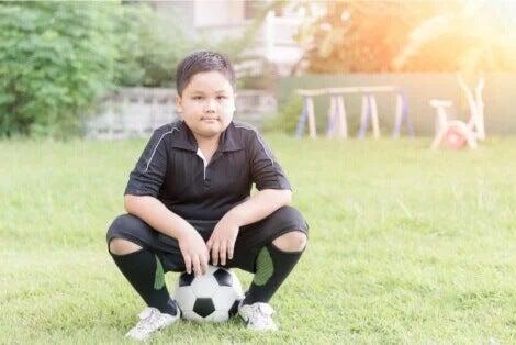 Praticar esportes na infância