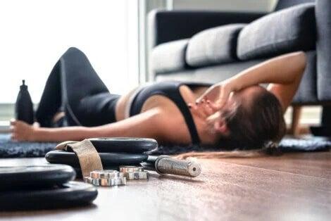 Descansar após o treino