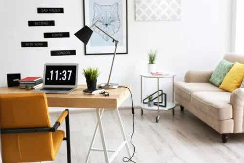 8 dicas para decorar seu escritório