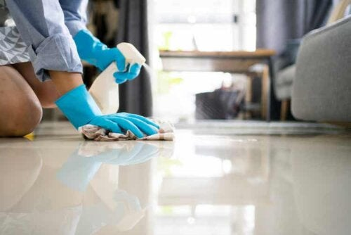 Limpar o piso