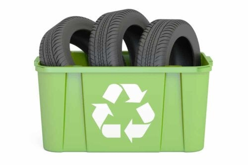 Reutilizando pneus velhos