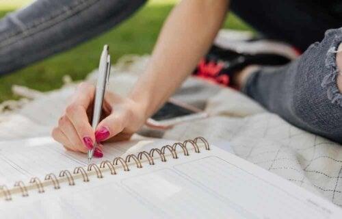Escrever em diário