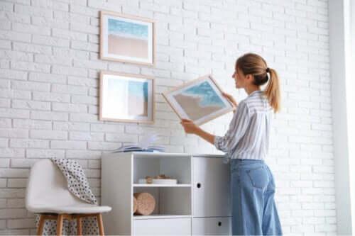7 dicas para pendurar quadros sem estragar a parede