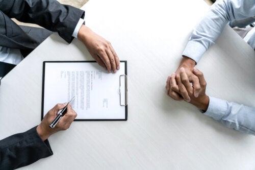 O que é um contrato psicológico?
