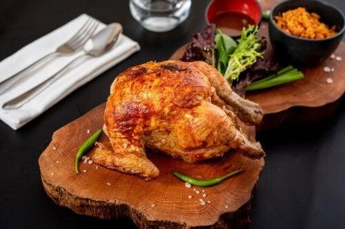 Comer frango assado é saudável?