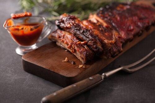 Receita deliciosa de costela ao molho barbecue