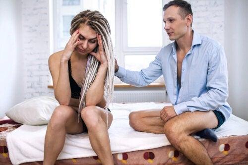 A ansiedade nas relações sexuais