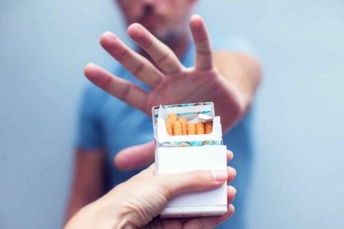 Principais sintomas da síndrome de abstinência de nicotina