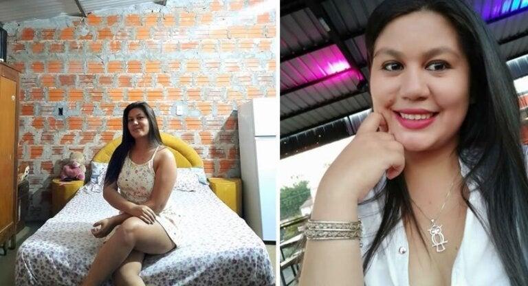 """Jovem viraliza por compartilhar a conquista da casa própria: """"Sem reboco, mas sem ninguém me bancando"""""""