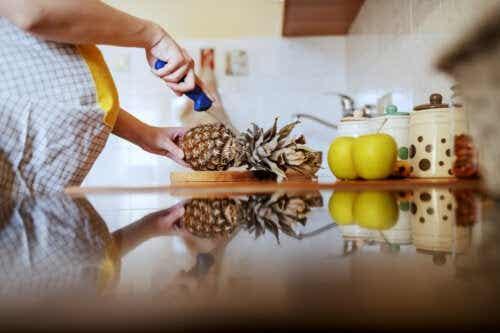É bom comer abacaxi durante a gravidez?