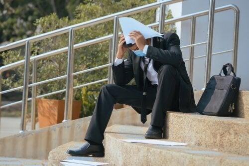Principais efeitos do desemprego na saúde mental